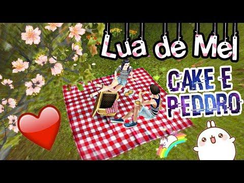 Lua de Mel #1💜 Cake e Peddro💙| The Sims Freeplay💜