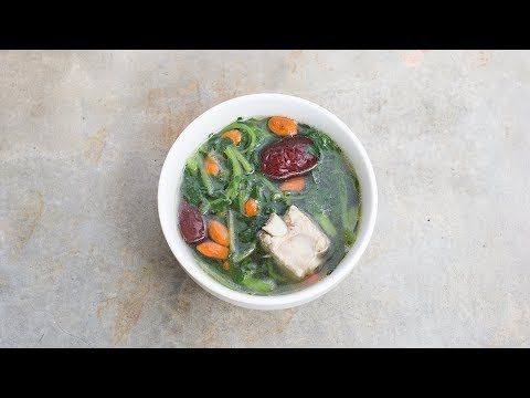 Chinese Watercress Pork Rib Soup | A Soup Good For Our Eyes