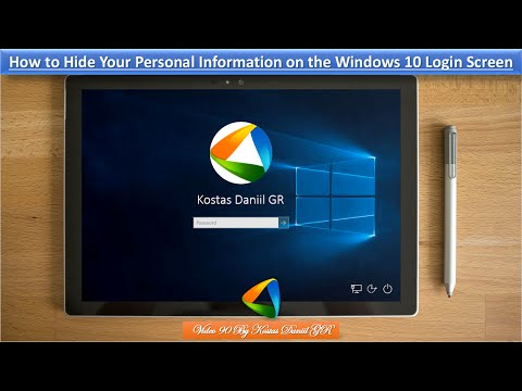How to Hide Your Personal Information on the Windows 10 Login Screen