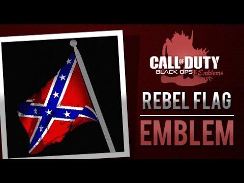 How to make Rebel Flag Emblem