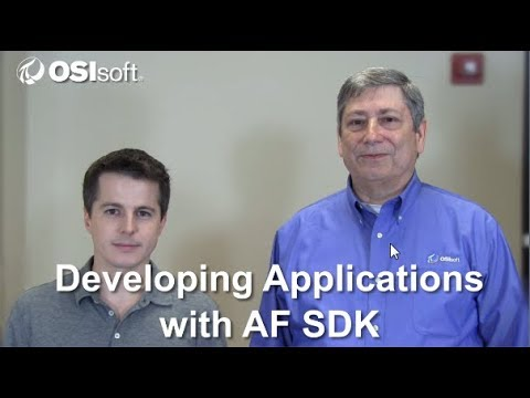 OSIsoft: Developing Applications with AF SDK Online Course