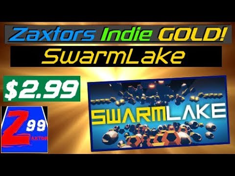 Zaxtors Indie GOLD! - Swarmlake - Relentless & Addictive Super Responsive Action For Just $2.99!