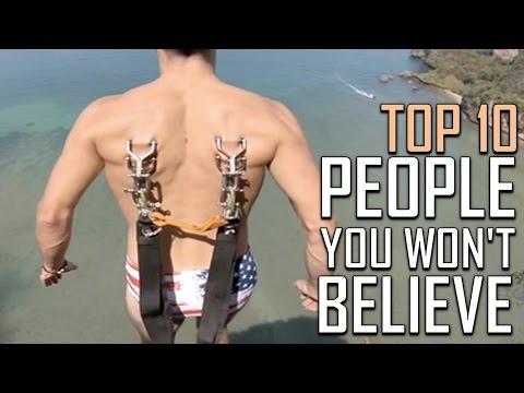 Top 10 Men You Won't Believe Actually Exist