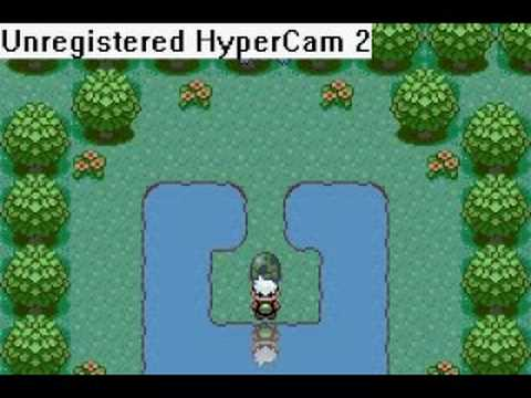 Pokemon Emerald Southern Island