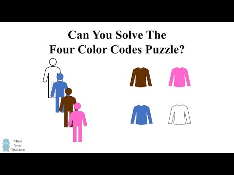 The Four Color Codes Logic Riddle