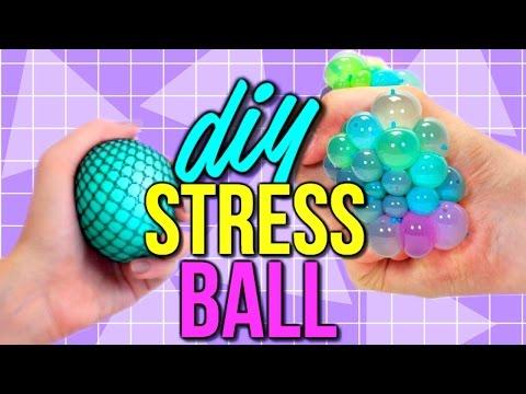 DIY Squishy Stress Ball | How to Make a Stress Ball | Courtney Lundquist