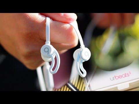 urBeats 3 White Earphones Review and Unbox // One Week Later