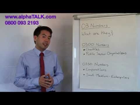How 0300 numbers can help your business - alphaTALK videos