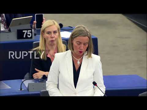 France: 'No military solution' to Syria conflict, stresses Mogherini