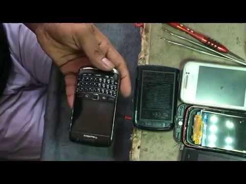 blackberry 9700 display problem 2016