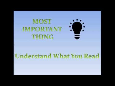 Tips for attempting Reading Comprehension (RC's) passages - Do's and Don'ts | Team MAST