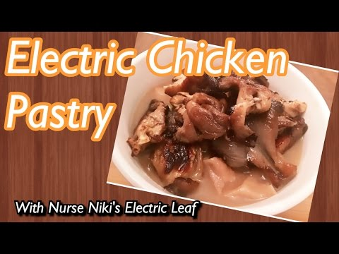 Alkaline Vegan  Chick-un Pastry! Dr. Sebi✅ Soy-Free Electric Food!🔋⚡️
