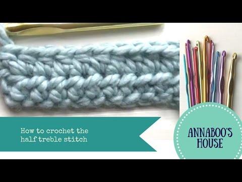 Making the Half Treble Crochet stitch