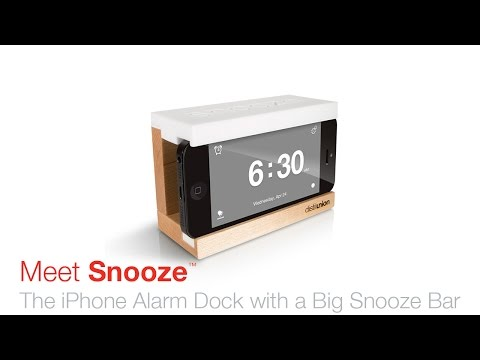 Snooze: Turn iPhone into your dream alarm clock
