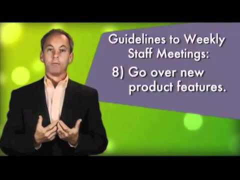 How To Create and Conduct An Employee Meeting