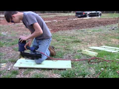DIY Raised beds for blueberries