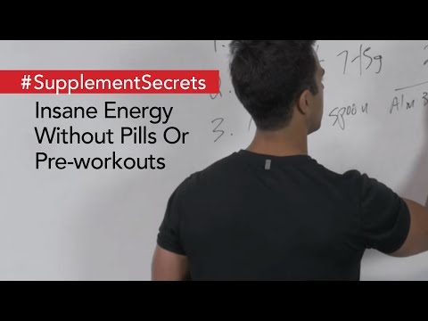 Insane Energy Without Pills Or Pre-workouts