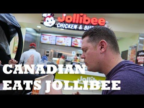 CANADIAN EATS JOLLIBEE | HALO-HALO & CHICKEN JOY