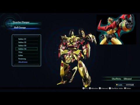 Xenoblade Chronicles X - Ares 90 Showcase