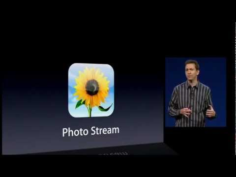 Shared Photo Stream - Apple WWDC Keynote 2012  iOS 6 (Part 7-12)