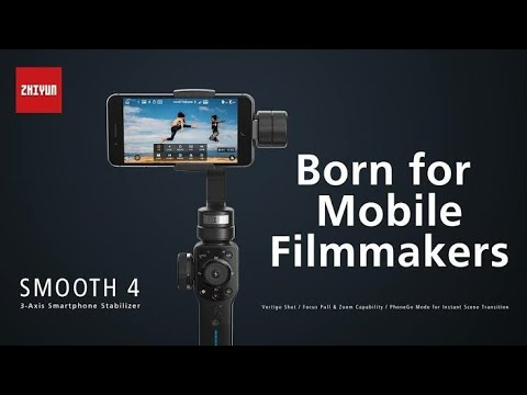 Zhiyun's Smooth 4 New Mobile Gimbal Full Review and Opinion