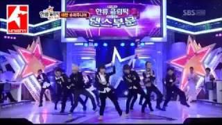 Knight - 韓流奧林匹克【表演+訪問+領獎中字】