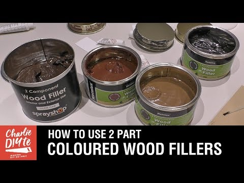 How to Use Coloured 2 Part Wood Filler