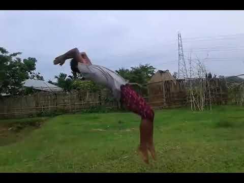 Back jump