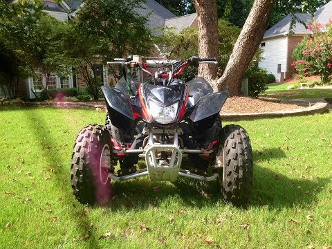 How to lower and widen an ATV for $10