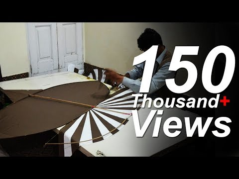 How to make a Patang - Step by Step Guide - KITES KORNER