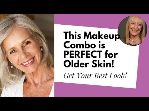 Makeup for Women Over 60: Why Cream Blush With a Little Powder Is the Best Choice for Older Skin