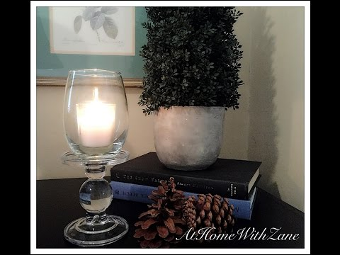 DIY Votive Candle Holder/Hurricane