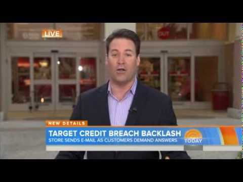 Today Show talks about the Target Credit Card Breach.
