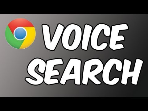 How to: Use Voice Search in Google Chrome ~ iPad | iPhone | iPod touch