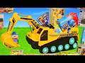 Excavator Truck Cars Amp Amp Dump Trucks Construction Toy Vehicles For Kids  Ride On Surprise Toys