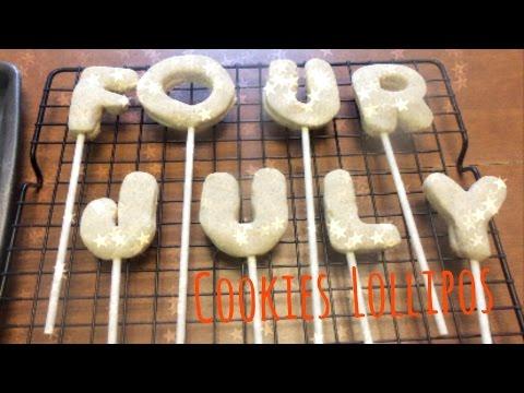 How to bake Cookies Lollipop - Lollipop Cookies