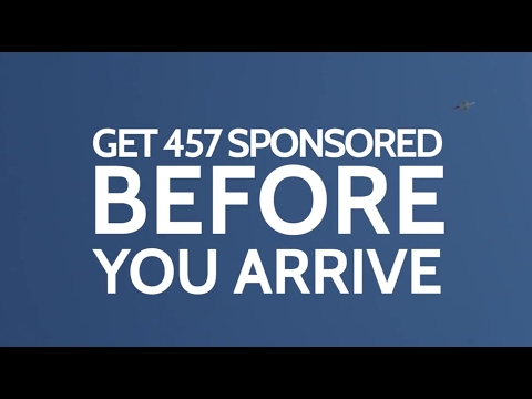 needu - Apply For a 457 Sponsorship Visa BEFORE You Arrive in Australia