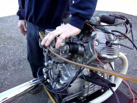 1982 Honda GL500 Silver Wing Engine & Carburetor Rebuild by Randy's Cycle Service @ rcycle.com