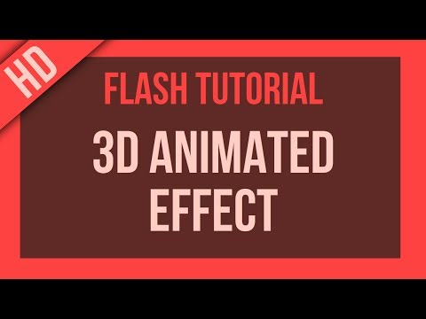 Flash Tutorial: 3D Animated Effect