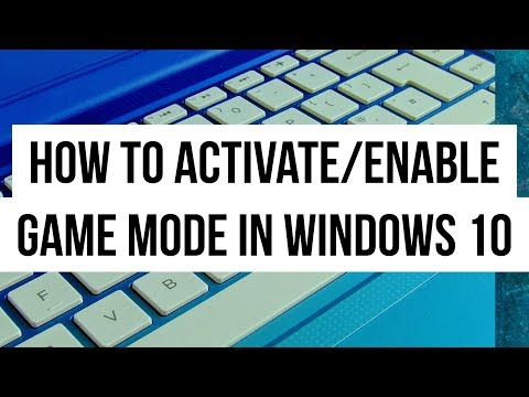 How to Activate Game Mode | Windows 10 Update to get Game Features