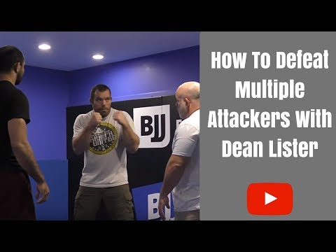 When Attacked By Multiple Attackers by Dean Lister