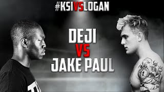 Deji VS. Jake Paul  - FULL FIGHT #KSIvsLogan