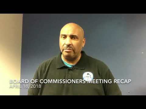 Board of commissioners meeting recap