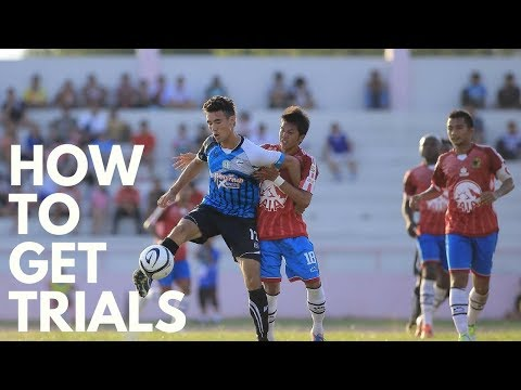 BEST WAYS TO GET A FOOTBALL TRIAL!