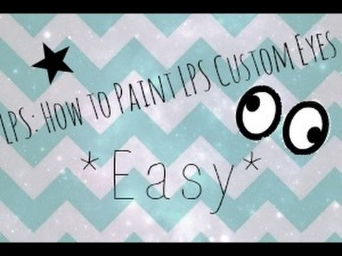 LPS: How to Paint LPS Custom Eyes *Easy* 👀