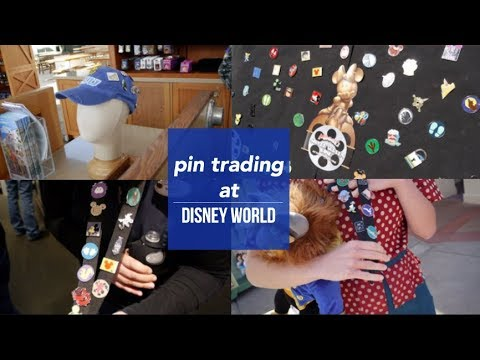 PIN TRADING AT DISNEY WORLD! (Epcot & Hollywood Studios) | pt. 1