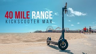 Hollywood to Santa Monica and Back ? 🛴  Review and Range Test of Ninebot MAX