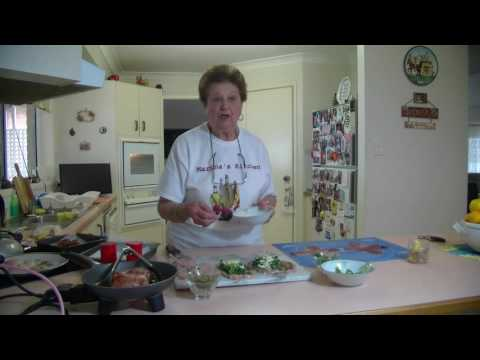 Marina's  Kitchen  - Prosciutto Wrapped Chicken Parcles