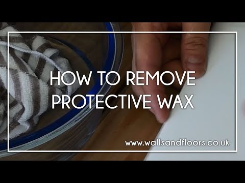 Two Methods in Removing Protective Wax from Metro Tiles