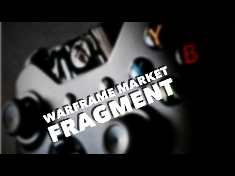 How to get the market segment in warframe (updated)